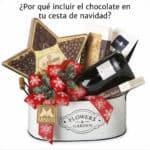 Cesta de Navidad de Cestas Martí con chocolate