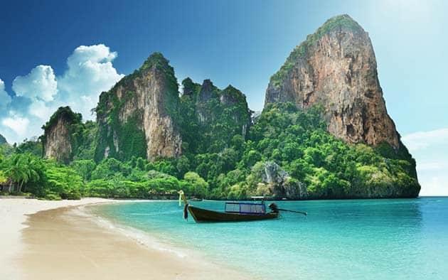 Imagen de la playa de Tailandia