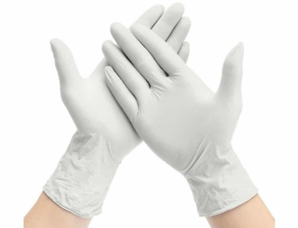 guantes desechables de látex